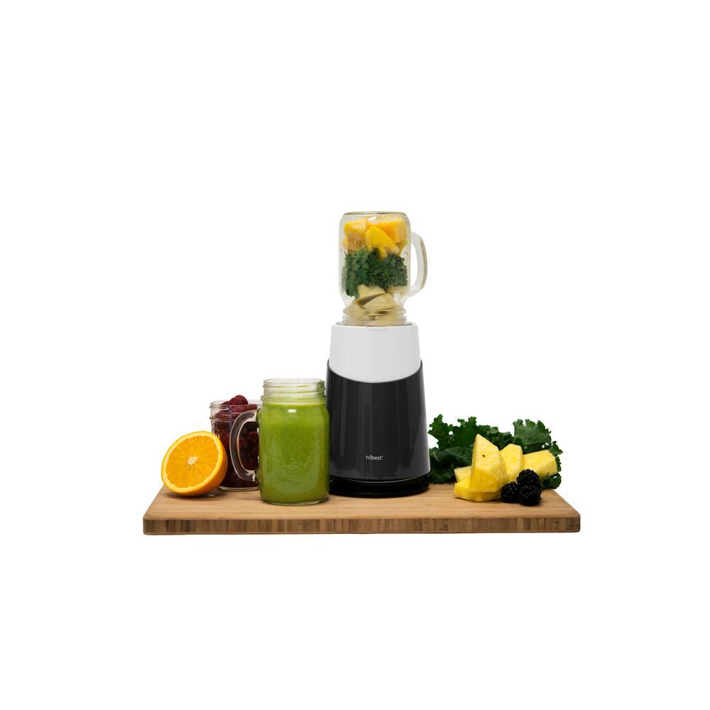 Mason 24 in. Grey Jar Ready Personal Blender 2 with Mason Jar Blending Mug