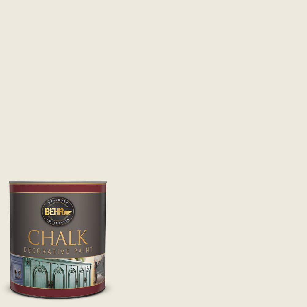 BEHR 1-qt. #BCP09 Farmhouse White Interior Chalk Finish Paint