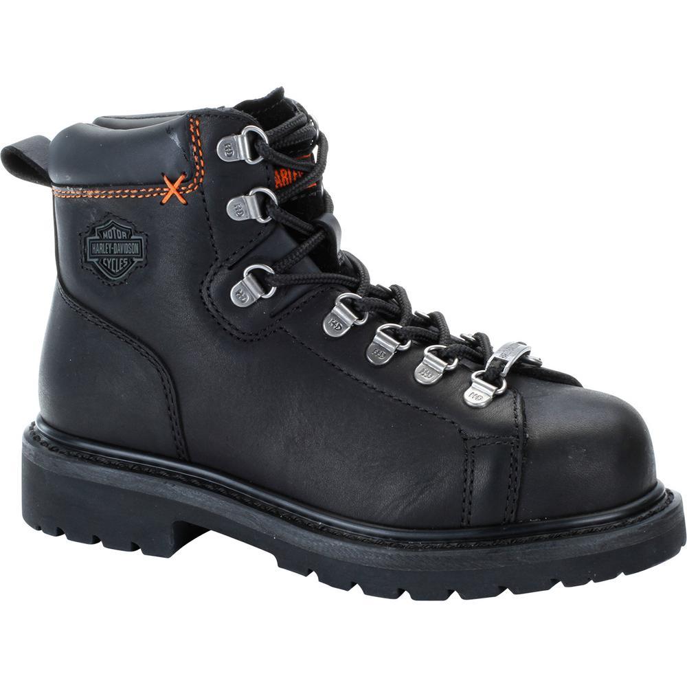 300db50c158 Harley-Davidson Gabby Women's 7.0 M Black Steel Toe Boot
