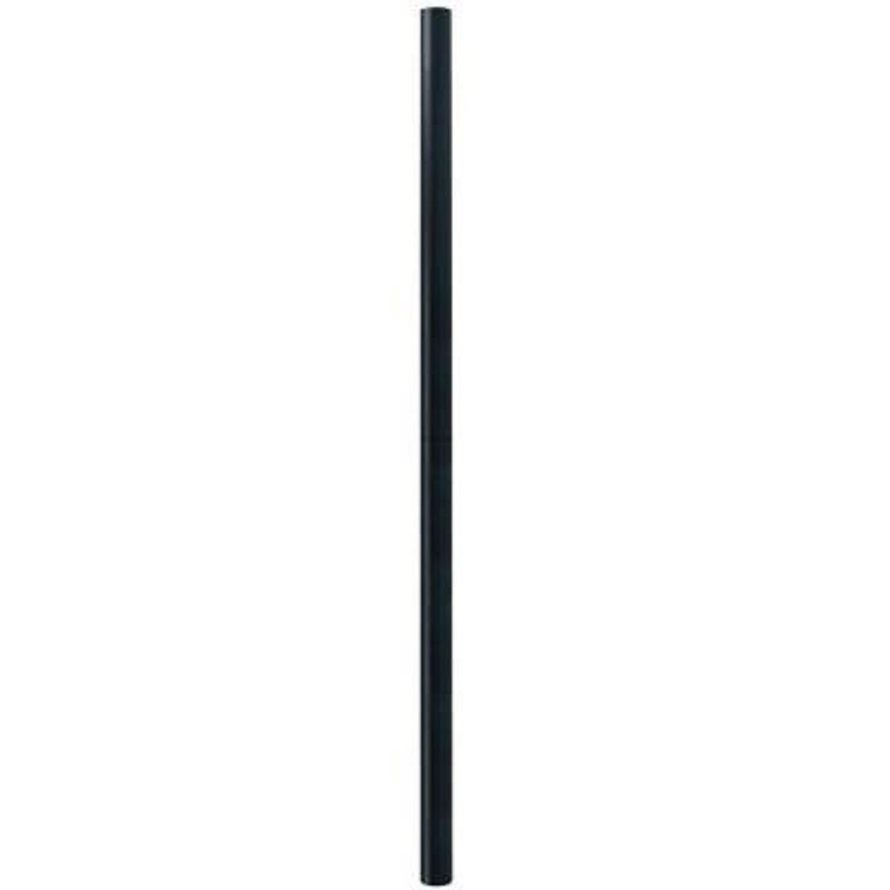 Hampton bay black lamp post 2 piece hb9000b the home depot mozeypictures Choice Image