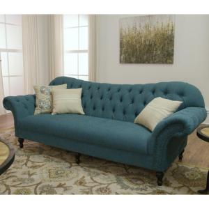 Internet 206798784 8 Home Decorators Collection Arden Pea Polyester Sofa