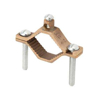 Bronze Ground Clamp 1 1/4 - 2 in. (Case of 5)