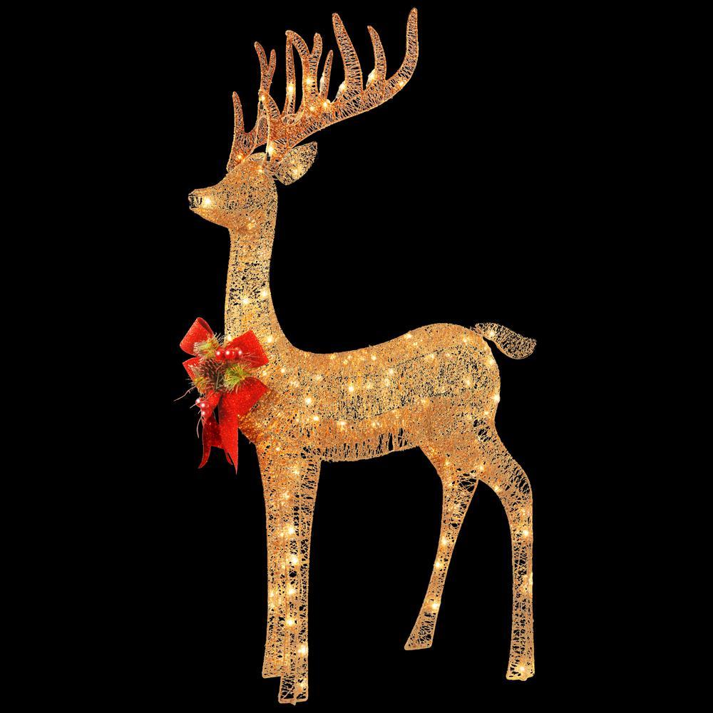 48 in. Pre-lit Standing Reindeer
