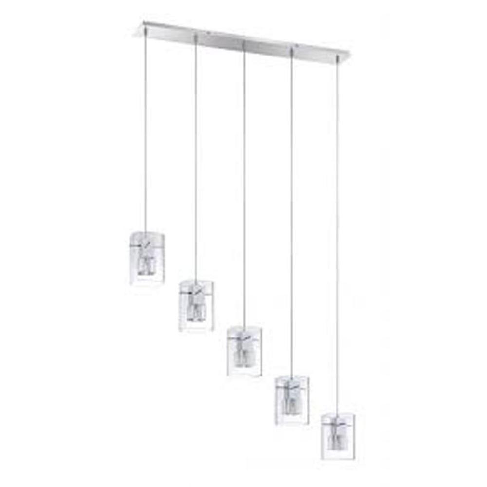 Filament Design Vanadis 5-Light Chrome Multi-Light Pendant