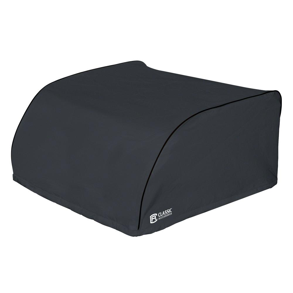 Overdrive 27.25 in. L x 29 in. W x 14.25 in. H RV Air Conditioner Cover Black Dometic Overdrive 27.25 in. L x 29 in. W x 14.25 in. H RV Air Conditioner Cover Black Dometic
