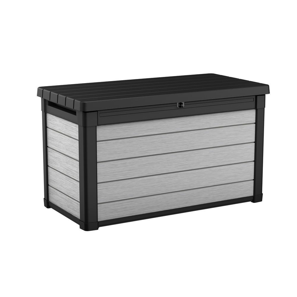 Denali 100 Gal. Resin Deck Box in Grey