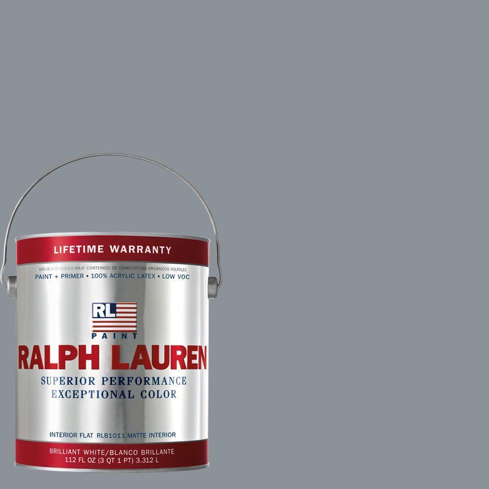 Ralph Lauren 1-gal. Tracery Gray Flat Interior Paint