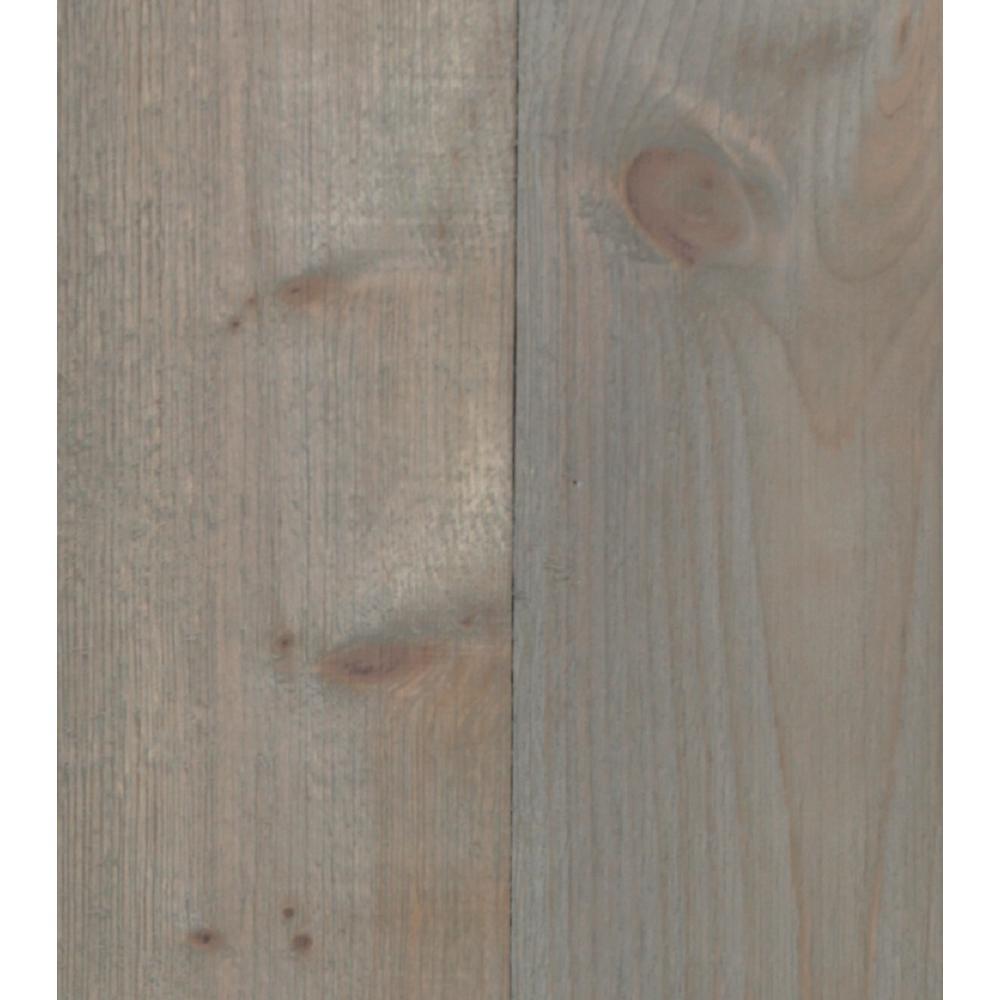 3/8 in. x 5-1/2 in. x 47-1/2 in. Barn Board Gray Planking (2 Boxes per Carton) - 29 Sq. Ft.