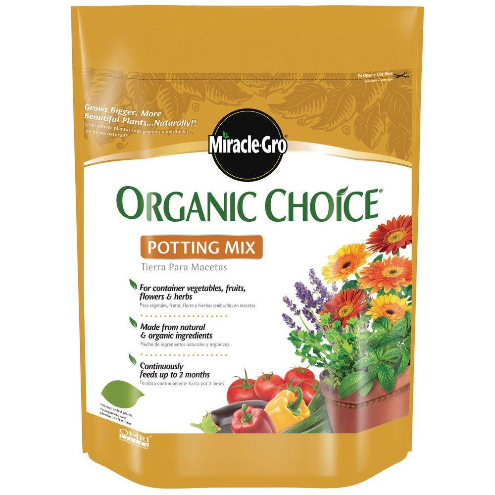 Miracle-Gro 8 Qt. Organic Choice Potting Mix