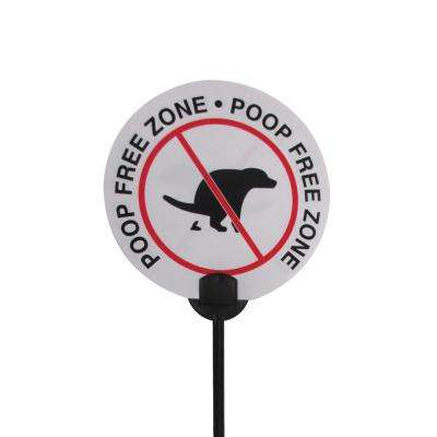6 in. Vinyl Canine Clean Up Sign