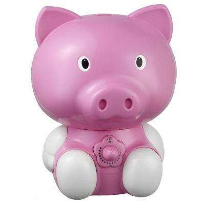 Pig Ultrasonic Cool Mist Humidifier - Pink