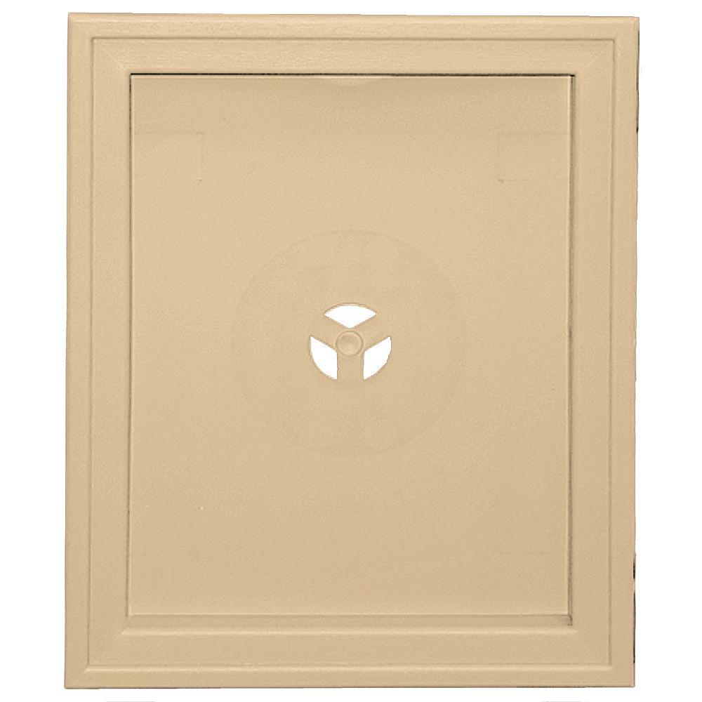 6.75 in. x 8.75 in. #045 Sandstone Maple Large Recessed Mounting
