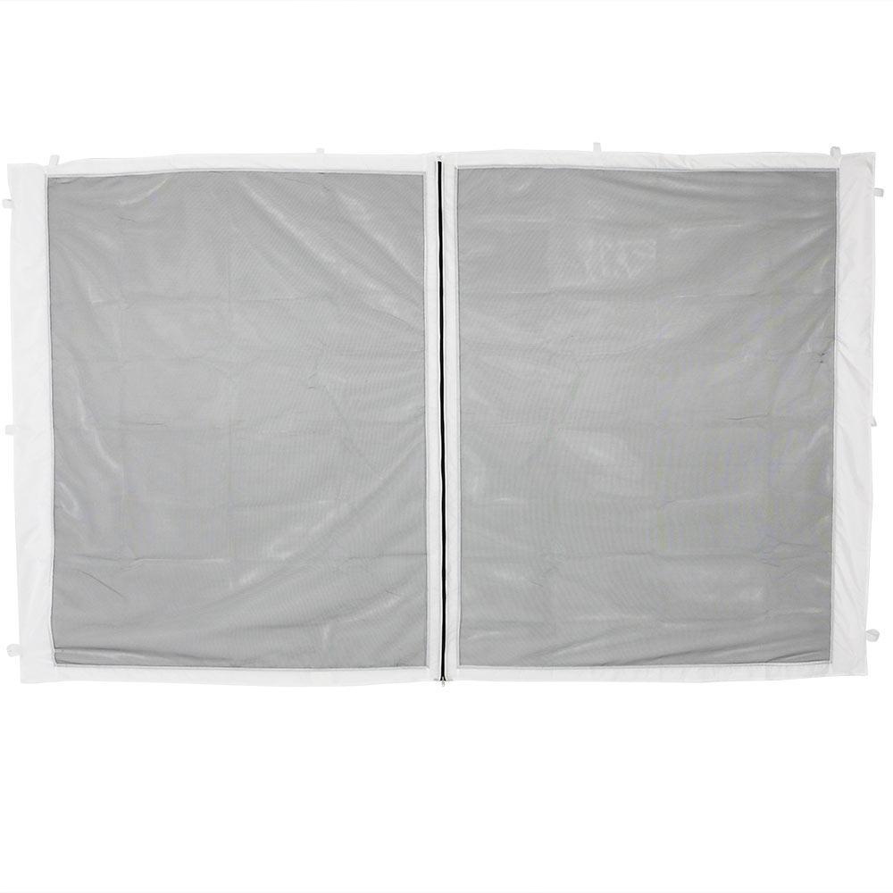 Zippered Mesh Sidewall Panel for 12 ft. x 12 ft. Straight Leg Canopy