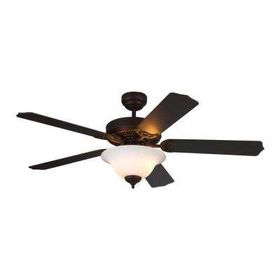 Homeowner II 52 in. Roman Bronze Ceiling Fan