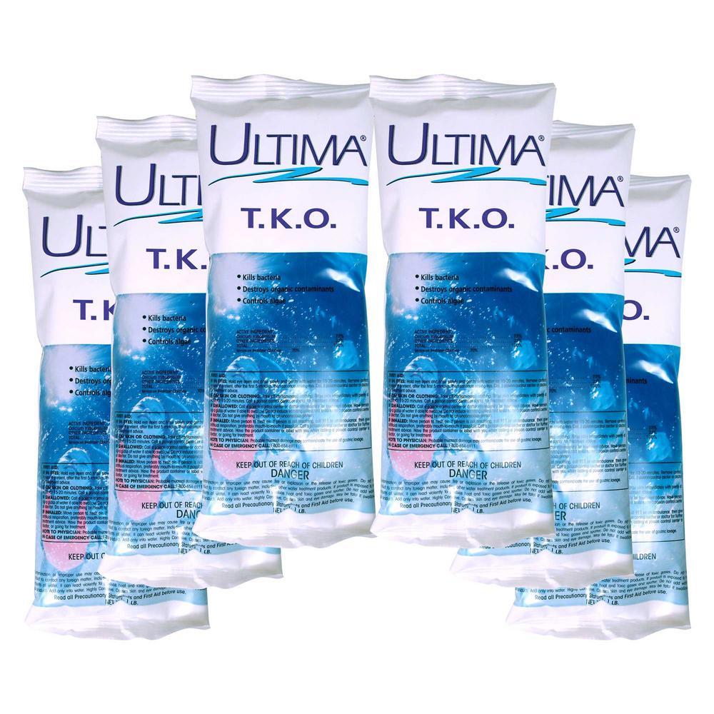 1 lb. T.K.O. Chlorinating Shock (6-Pack)