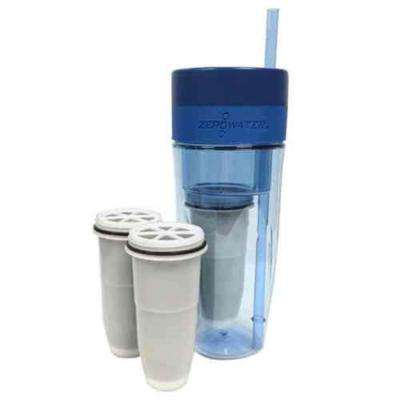 26 oz. Portable Filtration Tumbler and Tumbler Replacement Filters (2-Piece)