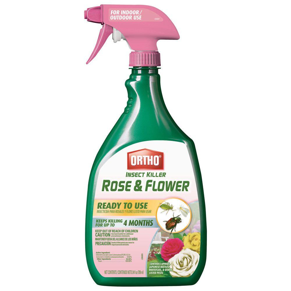 Ortho Insect Killer 24 oz. Rose and Flower Ready-to-Use