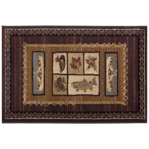 Tayse Rugs Nature Brown 2 ft. x 3 ft. Accent Rug by Tayse Rugs
