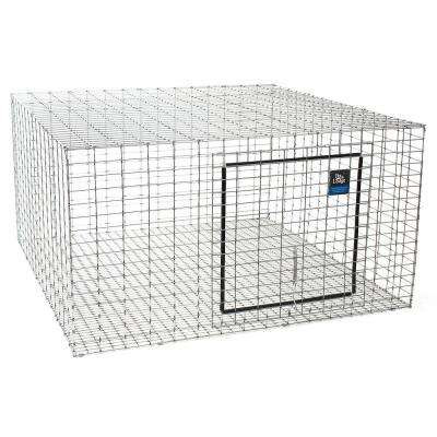 24 in. x 24 in. Metal Rabbit Hutch