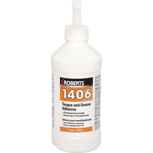 1406 16 Oz Tongue And Groove Adhesive, Glue For Laminate Flooring Home Depot