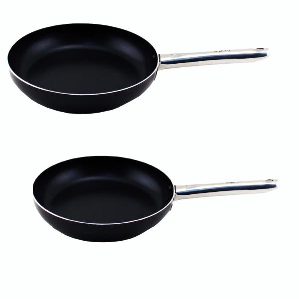 BergHOFF EarthChef Boreal 2-Piece Aluminum Frying Pan Set with Non-Stick Coating