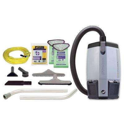 ProVac FS 6 6 qt. Backpack Vac with Restaurant Tool Kit