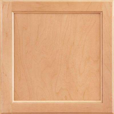 12-7/8x13 in. Cabinet Door Sample in Clearfield Wheat