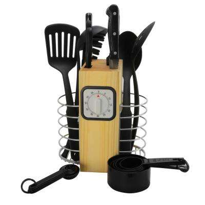 Total Kitchen 25-Piece Assorted Knife and Tools Set