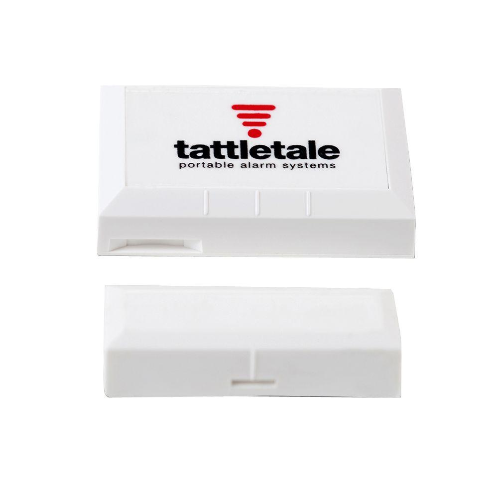 tattletale Wireless Door/Window Sensor. The door/window sensor requires a tattletale base unit to operate.
