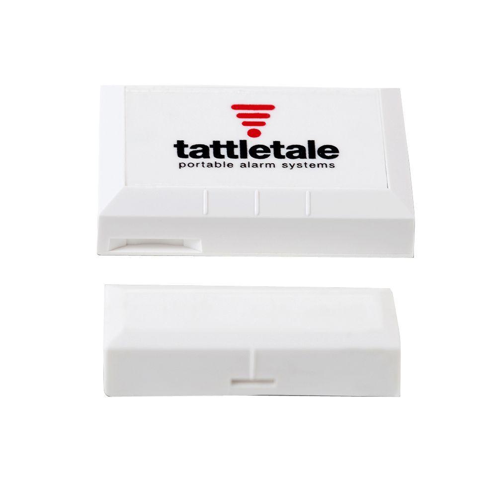 Wireless Door/Window Sensor. The door/window sensor requires a tattletale base unit to operate.