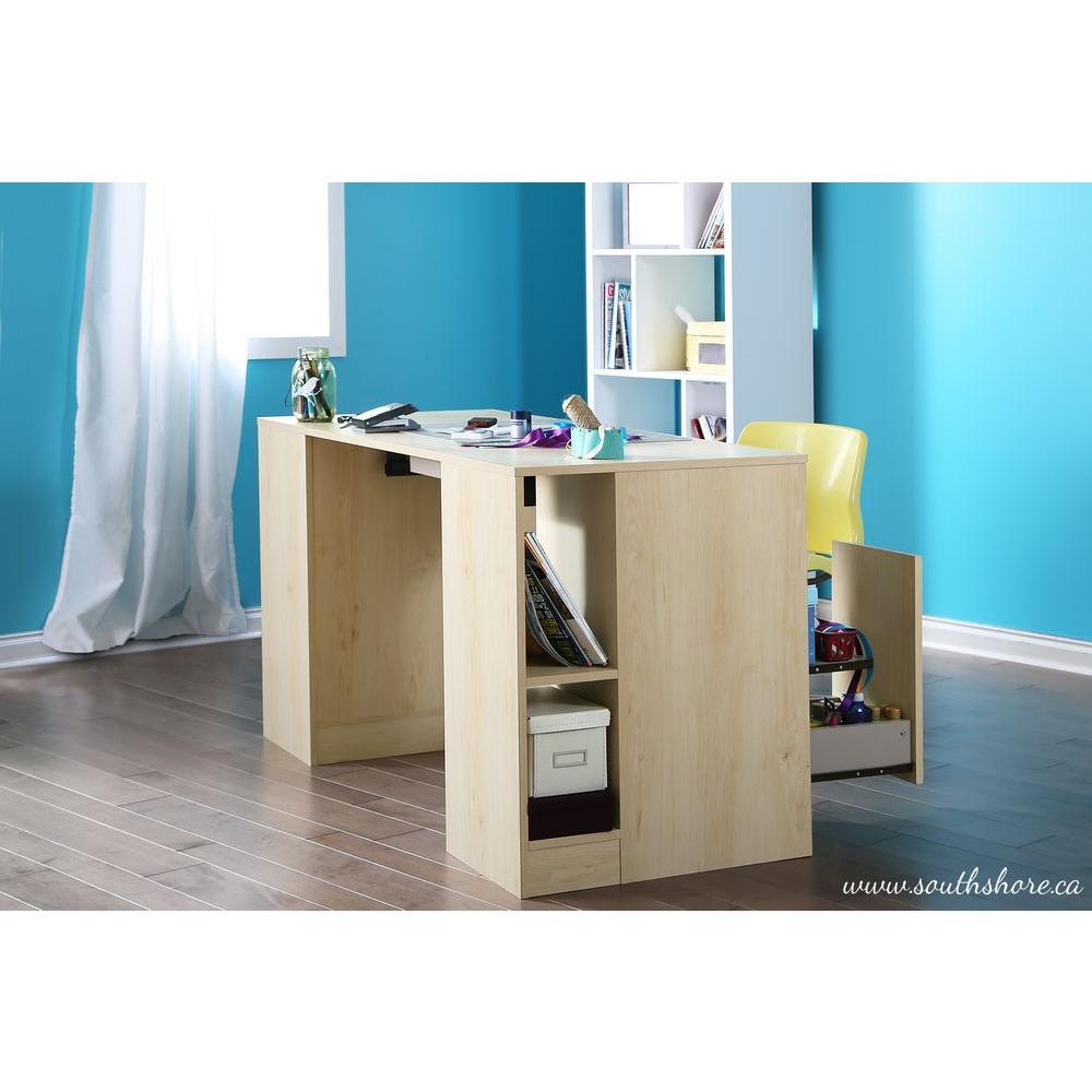 Crea Natural Maple Desk