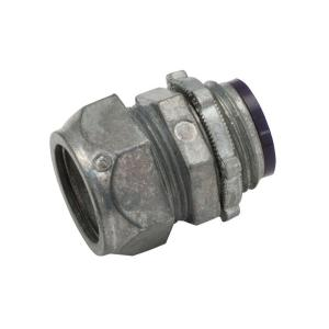 EMT 1-1/2 in. Insulated Compression Connector (10-Pack)