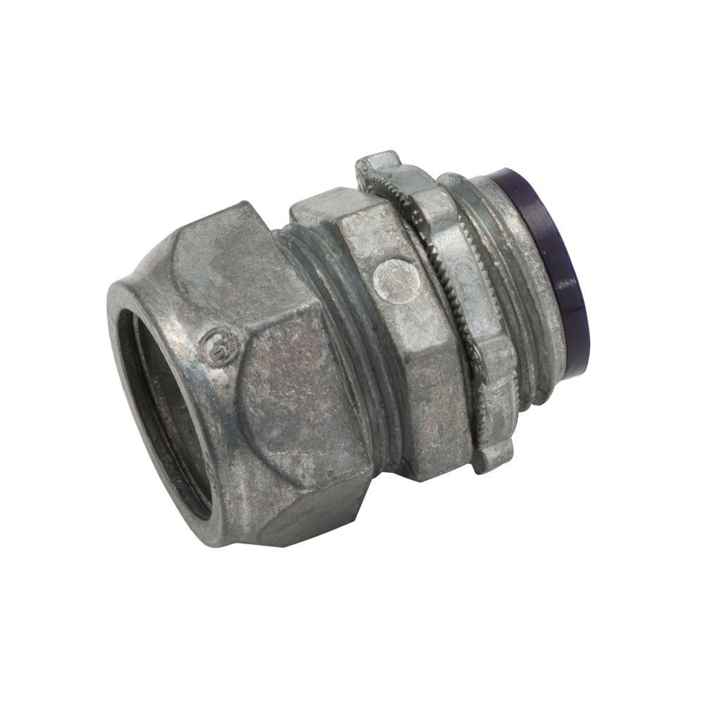 RACO EMT 3-1/2 in. Insulated Compression Connector (10-Pack)