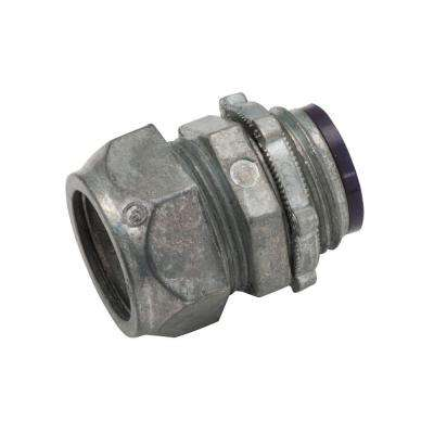 EMT 4 in. Insulated Compression Connector (6-Pack)