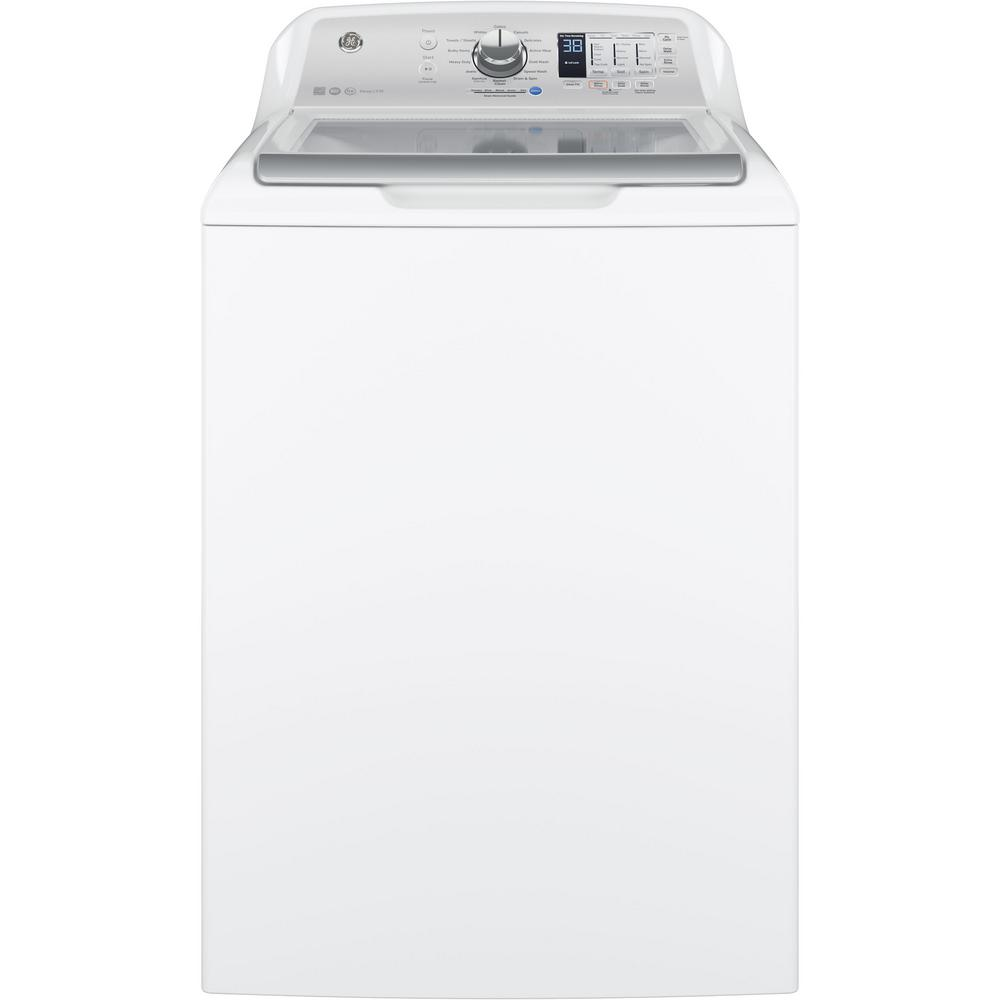 4.5 cu. ft. High-Efficiency White Smart Top Load Washing Machine with