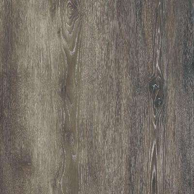 Take Home Sample - Dark Grey Oak Luxury Vinyl Flooring - 4 in. x 4 in.