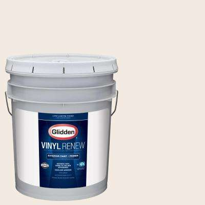 5 gal. #HDGWN03 Antique White Low-Lustre Exterior Paint with Primer