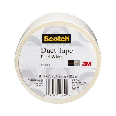 Scotch 1.88 in. x 20 yds. White Duct Tape (Case of 6)