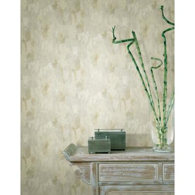 Flint Grey Vertical Texture Paper Strippable Roll Wallpaper (Covers 56.4 sq. ft.)
