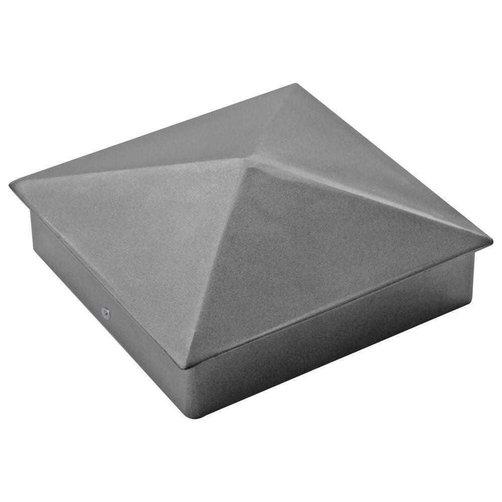 Yardistry 6 in. x 6 in. Aluminum Post Cap