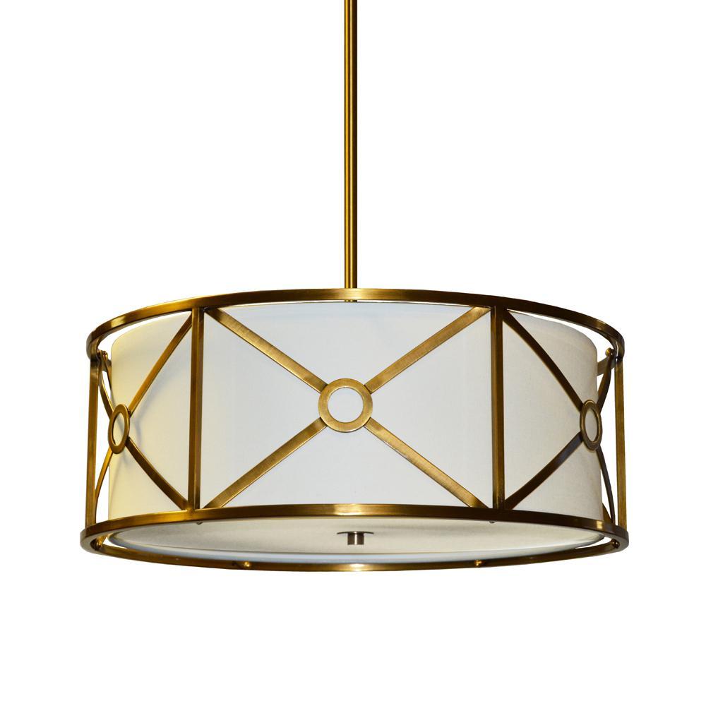 Filament Design 3-Light Vintage Bronze Pendant