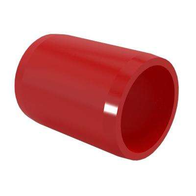 1-1/4 in. Furniture Grade PVC External Coupling in Red (10-Pack)