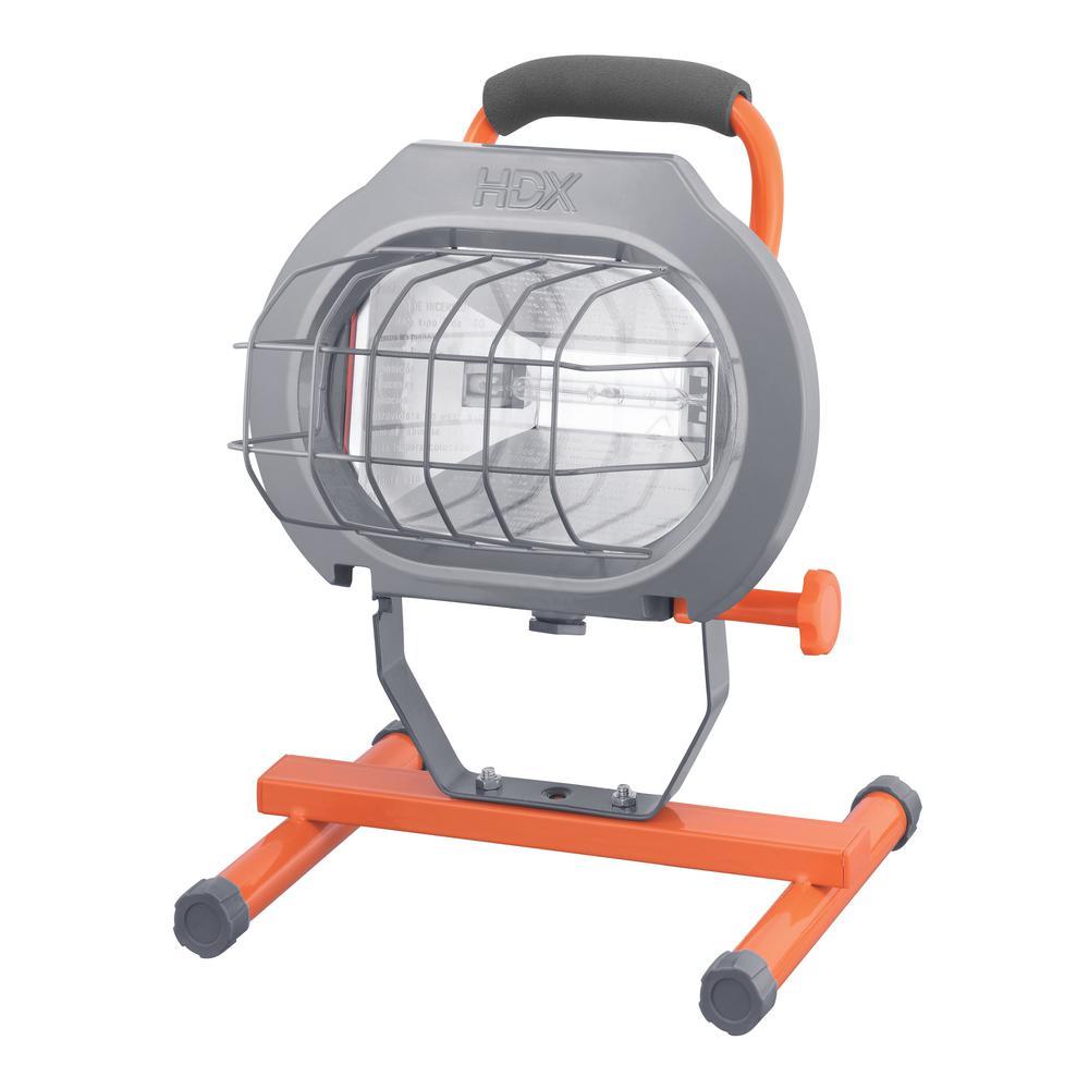 600-Watt Halogen Portable Work Light