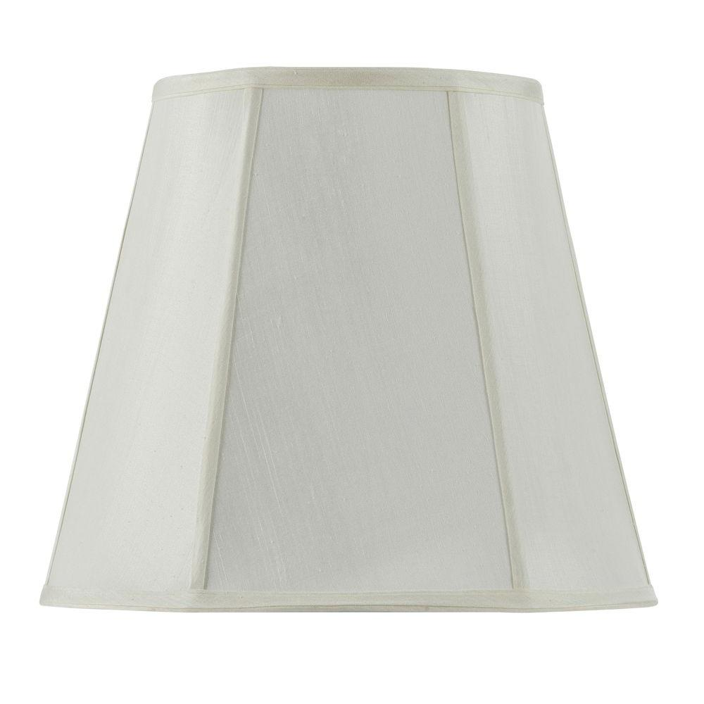 CAL Lighting 14 In. Eggshell Fabric Empire Lamp Shade