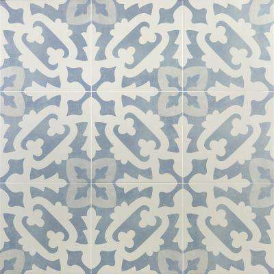 Anabella Moma 9 in. x 9 in. x 11mm Matte Porcelain Floor and Wall Tile (10.76 sq. ft. / box)