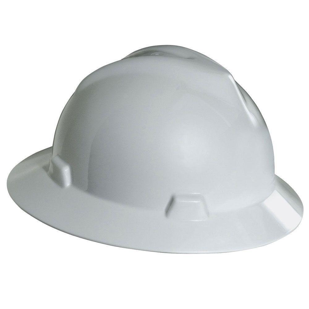 V-Gard Hard Hat, White