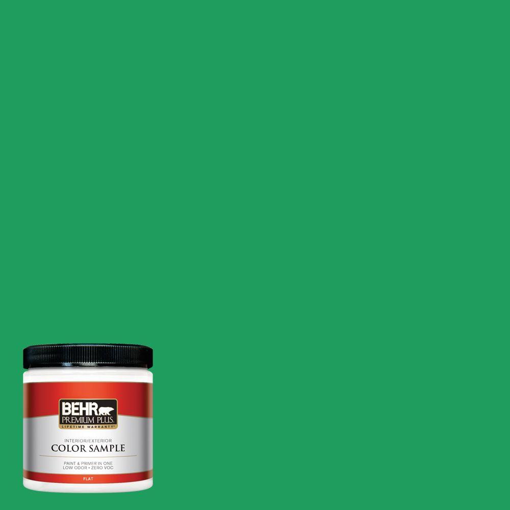 BEHR Premium Plus 8 oz. #S-G-450 Herbal Tea Interior/Exterior Paint Sample