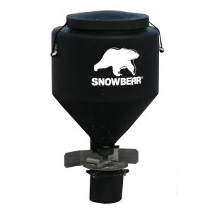 SNOWBEAR 250 lbs. Hitch Mounted Salt Spreader with Wireless Remote for 2 inch Receivers by SNOWBEAR