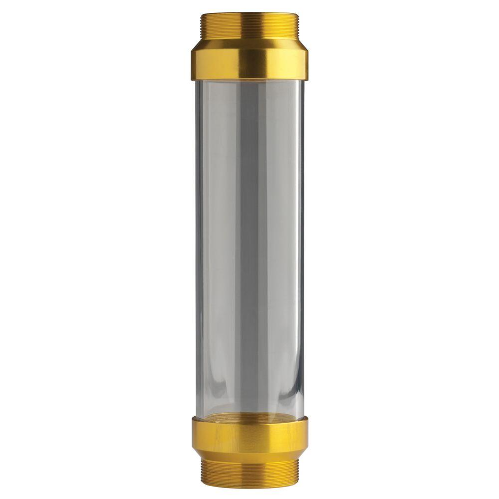 UltraView Clear Tube with Gold Ends