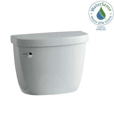 Cimarron 1.28 GPF Single Flush Toilet Tank Only with AquaPiston Flushing Technology in Ice Grey